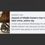 CAIR Seeks Hate Crime Charge for Alleged Assault on 'Middle Eastern' Man in Utah