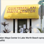 CAIR-Florida Calls for Hate Crime Probe of Neo-Nazi Vandalism Targeting Guatemalan-Maya Center in Lake Worth Beach, Fla.