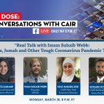TONIGHT: National Muslim Scholar Imam Suhaib Webb to Discuss Death, Funerals, Prayer During the Coronavirus Pandemic