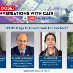 COMMUNITY ADVISORY   TONIGHT: CAIR's 'Daily Dose' COVID-19 Conversation to Discuss 'COVID Q&A: Direct from the Doctors'