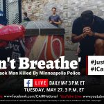 Today: CAIR's 'Daily Dose' COVID-19 Conversation to Discuss George Floyd ''I Can't Breathe' Killing