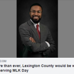 Edward Ahmed Mitchell: Now more than ever, Lexington County would be wrong to stop observing MLK Day