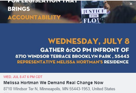 CAIR-Minnesota to Protest Melissa Hortman, Demand She Bring Real Justice and Transformative Change