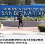 CAIR-LA Welcomes CSU San Bernardino Pledge to Prevent Anti-Islam Courses Being Offered