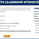 CAIR-CA to Host a Virtual Muslim Youth Leadership Intensive Amid COVID-19