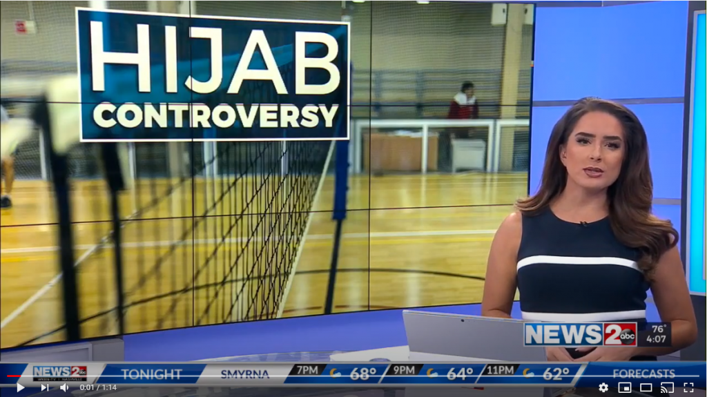 Video: CAIR Calls for National Rule Change After Tenn. Muslim Athlete Barred from Game Over Hijab