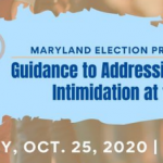 CAIR, Coalition Partners to Host Online Maryland Election Protection Training on Voter Intimidation as Early Voting Draws Near