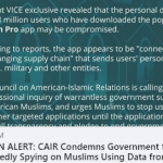 CAIR Calls on U.S. House Committees to Probe the Purchase of Personal Data from Muslim Prayer, Quran and Marriage Apps
