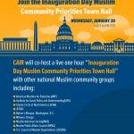 January 20: Join the Inauguration Day 'Muslim Community Priorities' Virtual Town Hall
