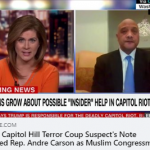 CAIR Expresses Solidarity with Rep. Andre Carson (D-IN) After Being Targeted by Terror Coup Suspect's 'Muslims in House' Note