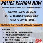 CAIR Action Alert: Join Maryland Coalition for Justice and Police Accountability at Emergency Action for Police Reforms in Annapolis