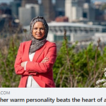 "CAIR National Board Chair Roula Allouch: ""Beneath her warm personality beats the heart of a lion"""