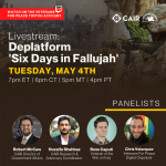 Community Advisory: Watch CAIR & VFP May 4 Twitch Discussion on 'Arab Murder Simulator' Six Days in Fallujah