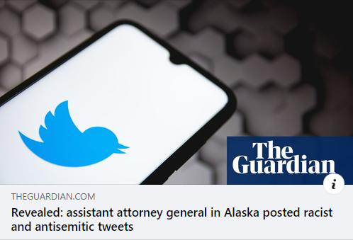 CAIR Calls for Removal of Alaska Assistant Attorney General who Posted Racist, anti-Semitic Tweets