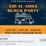 CAIR-OK To Host First Ever Eid Block Party