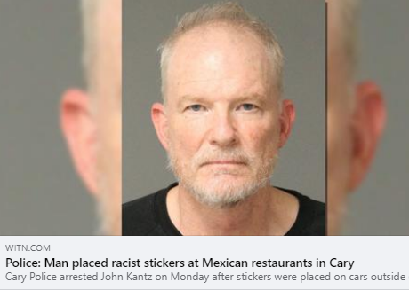 CAIR Condemns Racist Stickers Posted in and Around Mexican Restaurants in North Carolina