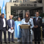 Full Video: CAIR, Coalition Announce Boycott of Hilton Over Hotel on Site of Uyghur Mosque in China